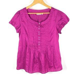 Croft & Barrow Women's Pink Blouse 1063